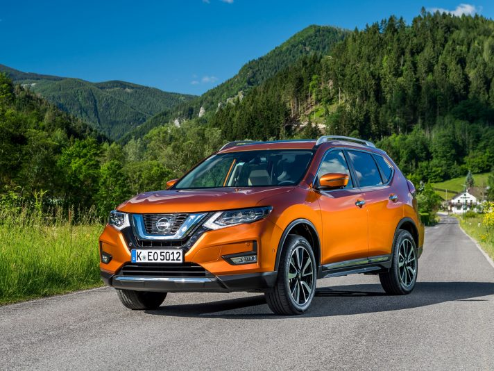 Nissan X-Trail Restyling: nuove foto