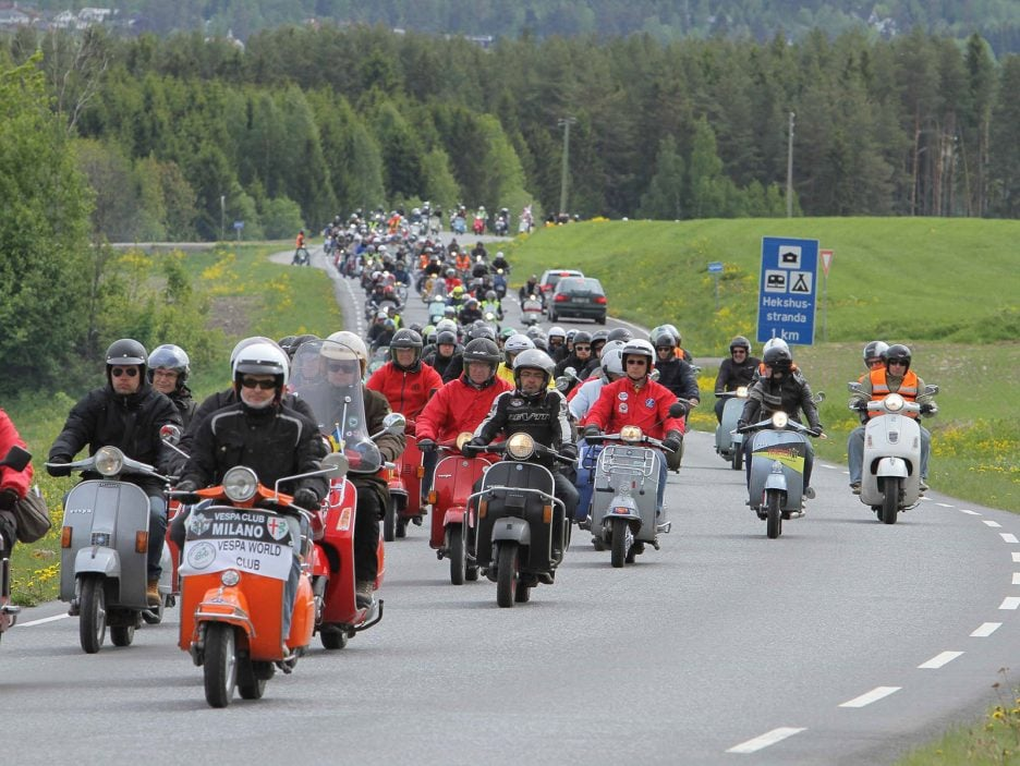 Vespa World Days 2017, al via in Germania la 11esima edizione