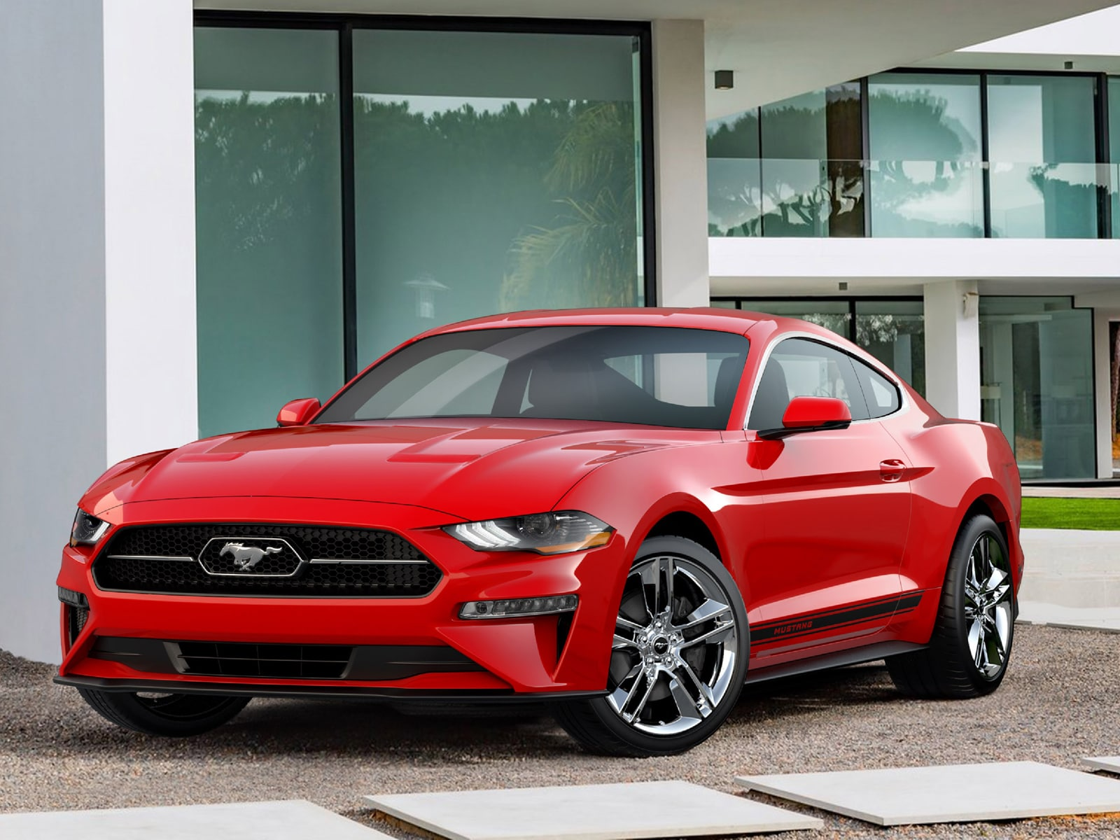 ford mustang 2018 39 pony package 39 il pacchetto classico. Black Bedroom Furniture Sets. Home Design Ideas