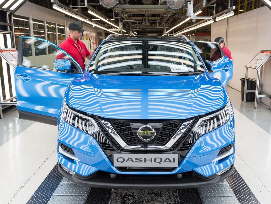 Production of new Nissan Qashqai begins in Europe