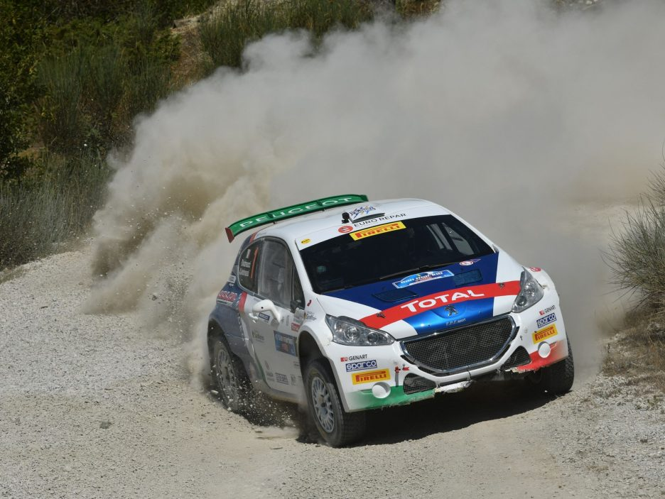 Paolo Andreucci, Anna Andreussi (Peugeot 208T16 R5 #1)