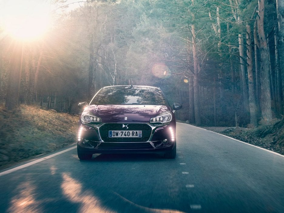 DS DS3 Cabrio frontale