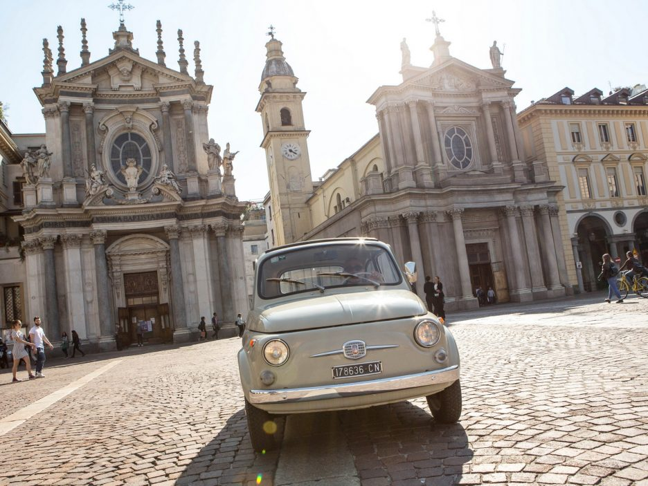 Fiat 500 MoMA frontale