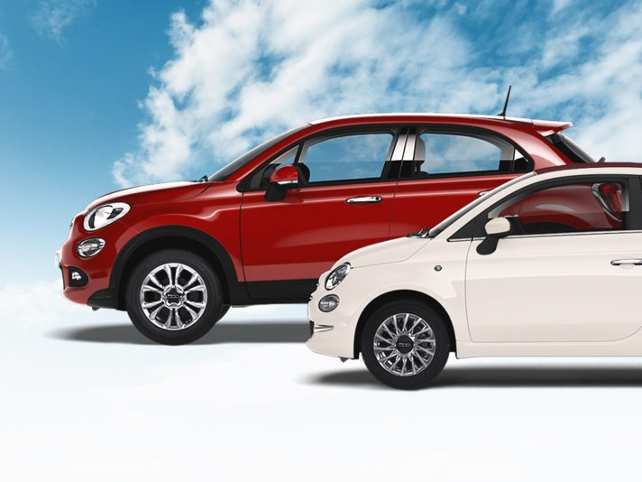 Fiat Be-Free e Amazon: arrivano la 500X e la 500 a GPL