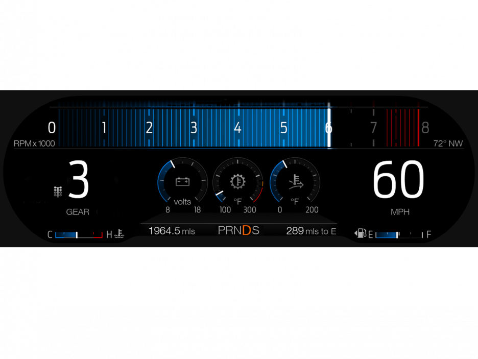 Ford-Mustang-GT-Drag-Strip-Mode-12-inch-Digital-Cluster