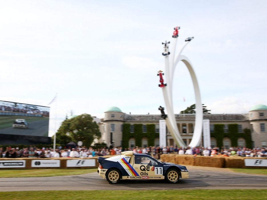 Ford RS200 Goodwood 2017