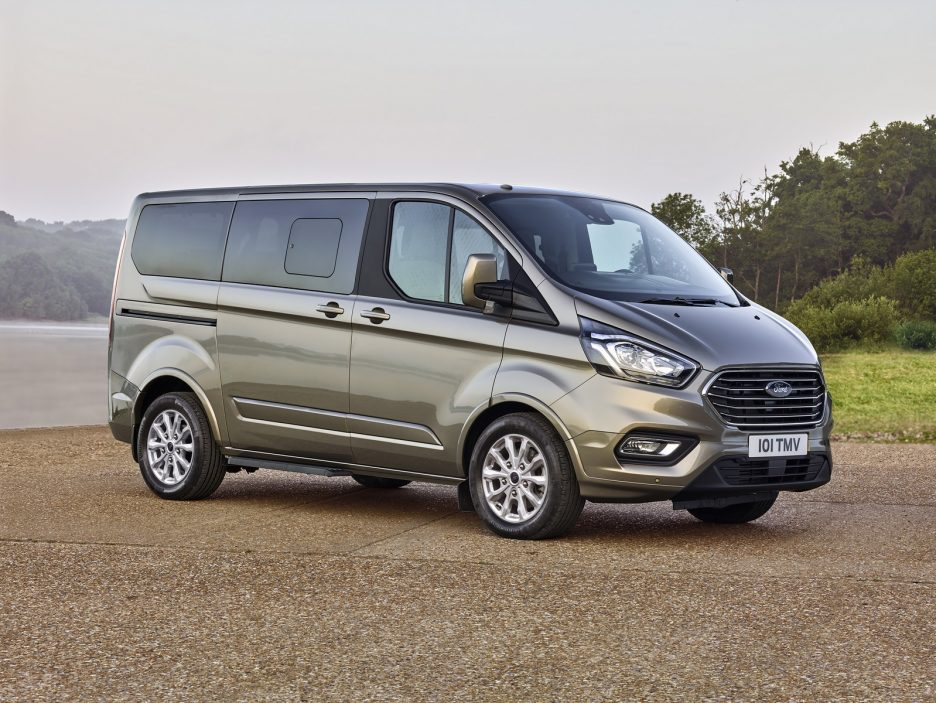 Ford Tourneo Custom restyling