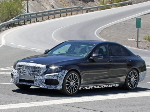 Mercedes C-Class facelift 2 copy