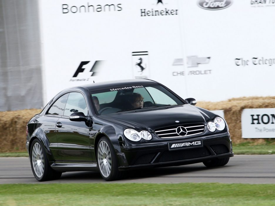 Mercedes CLK Goodwood 2017