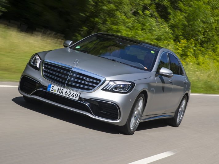 Mercedes Classe S 63 AMG: lusso veloce