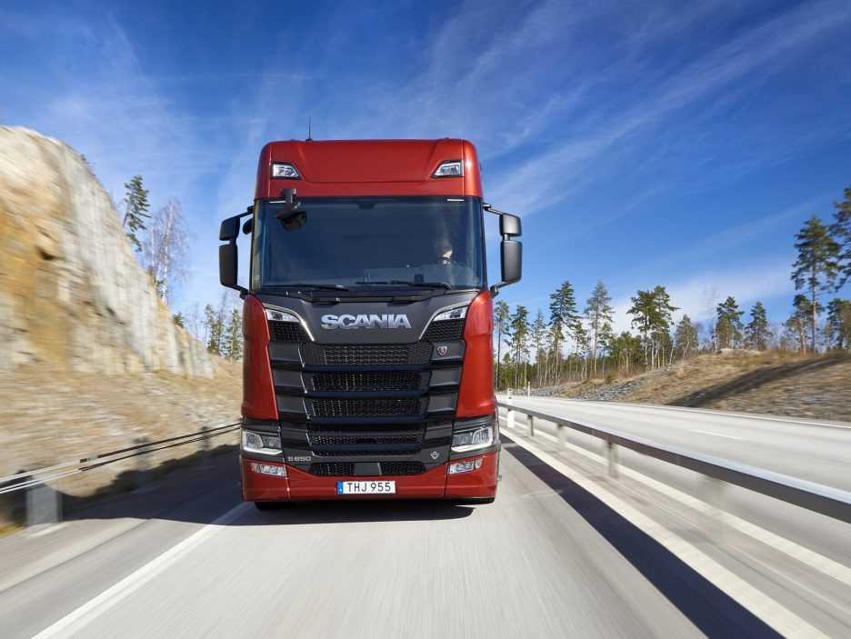 Scania frontale
