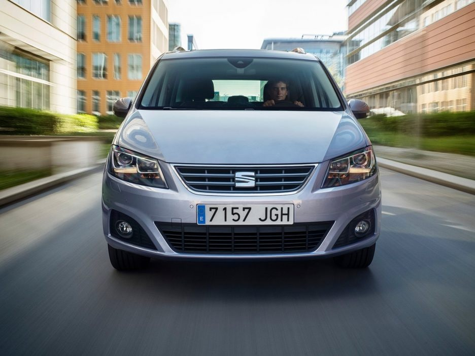 Seat Alhambra frontale