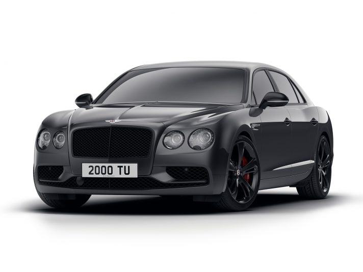 Bentley Flying Spur Black Edition: il lato oscuro
