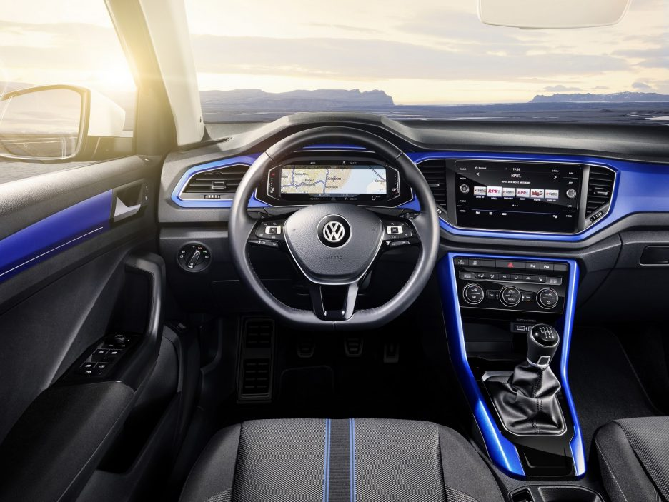 volkswagen t roc foto panoramauto. Black Bedroom Furniture Sets. Home Design Ideas