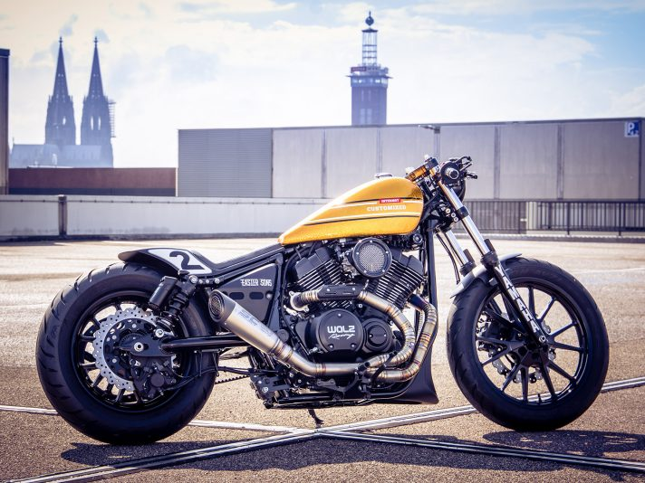 Yamaha XV 950 R by Marcus Walz, la nuova custom bike del team Intermot