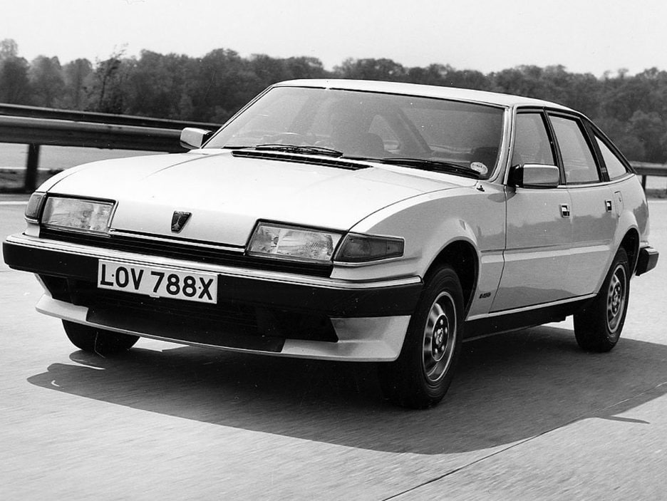 1982 - Rover SD1 restyling
