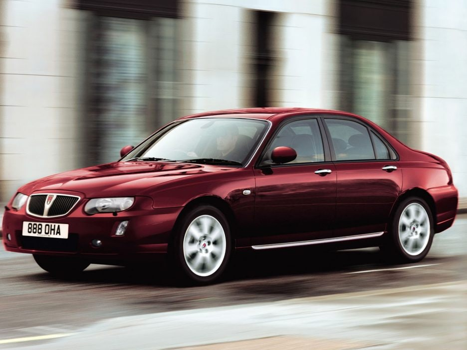 2004 - Rover 75 restyling