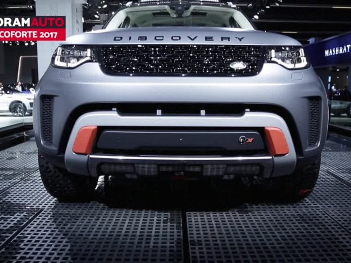 Jaguar e Land Rover a Francoforte 2017