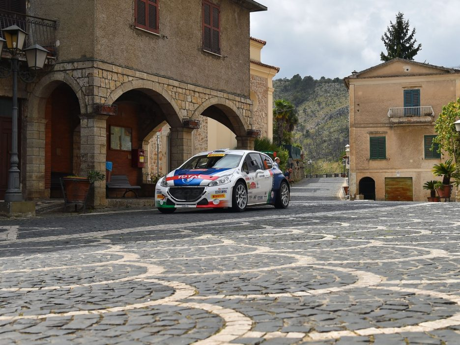 Paolo Andreucci, Anna Andreussi (Peugeot 208T16 R5 #101)