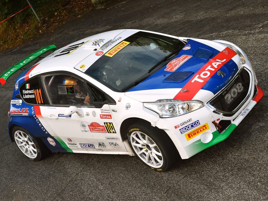 Paolo Andreucci, Anna Andreussi (Peugeot 208 T16 R5 #101)