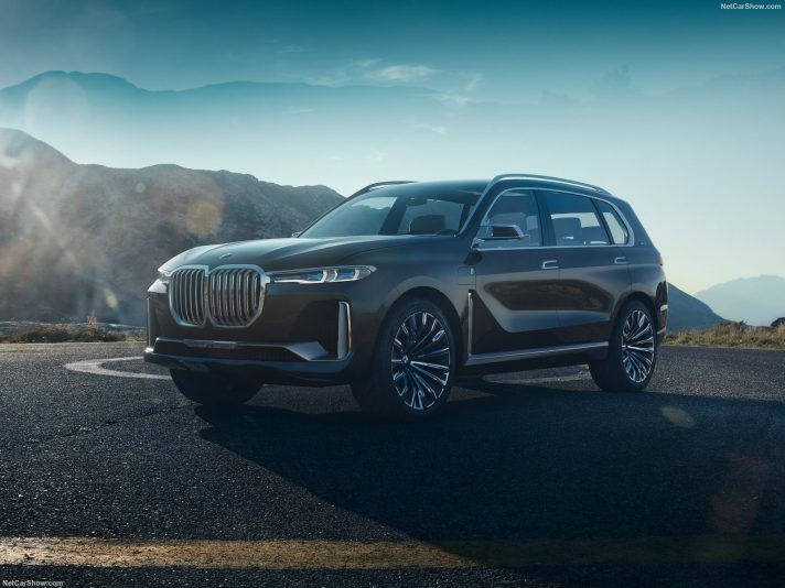 BMW x7 iPerformance: il video