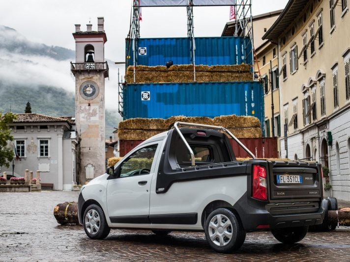 Dacia Dokker Pick-Up, compatto ed economico