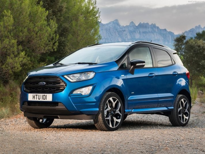 Ford EcoSport 2018: il restyling