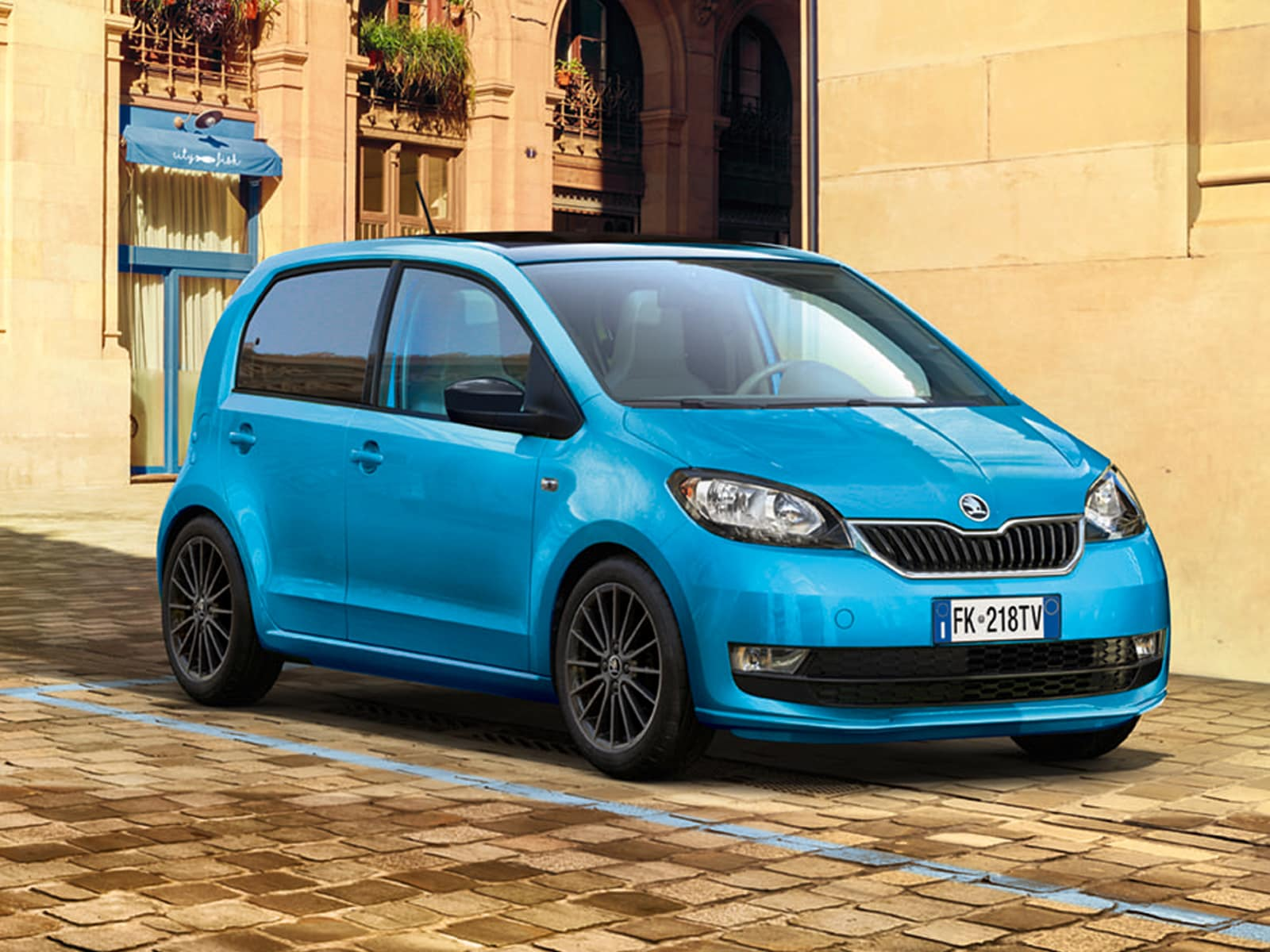 skoda citigo design edition news panoramauto. Black Bedroom Furniture Sets. Home Design Ideas