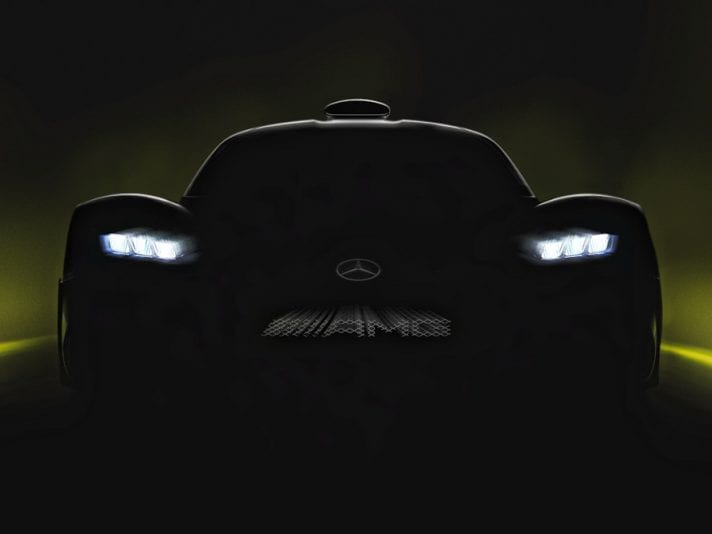 Mercedes-AMG Project ONE: primi dati ufficiali