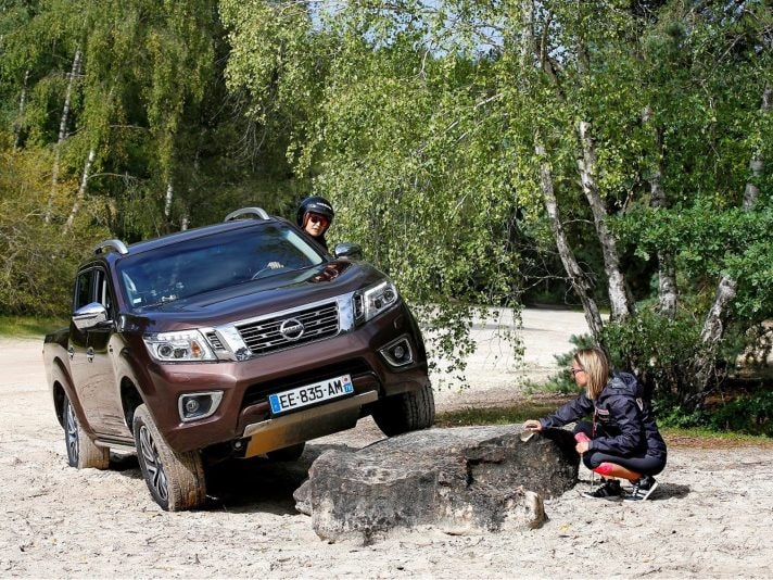 Nissan Navara al Rebelle Rally: l'off-road tutto al femminile