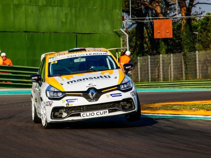 Renault Clio Cup Press League, la gara di Imola