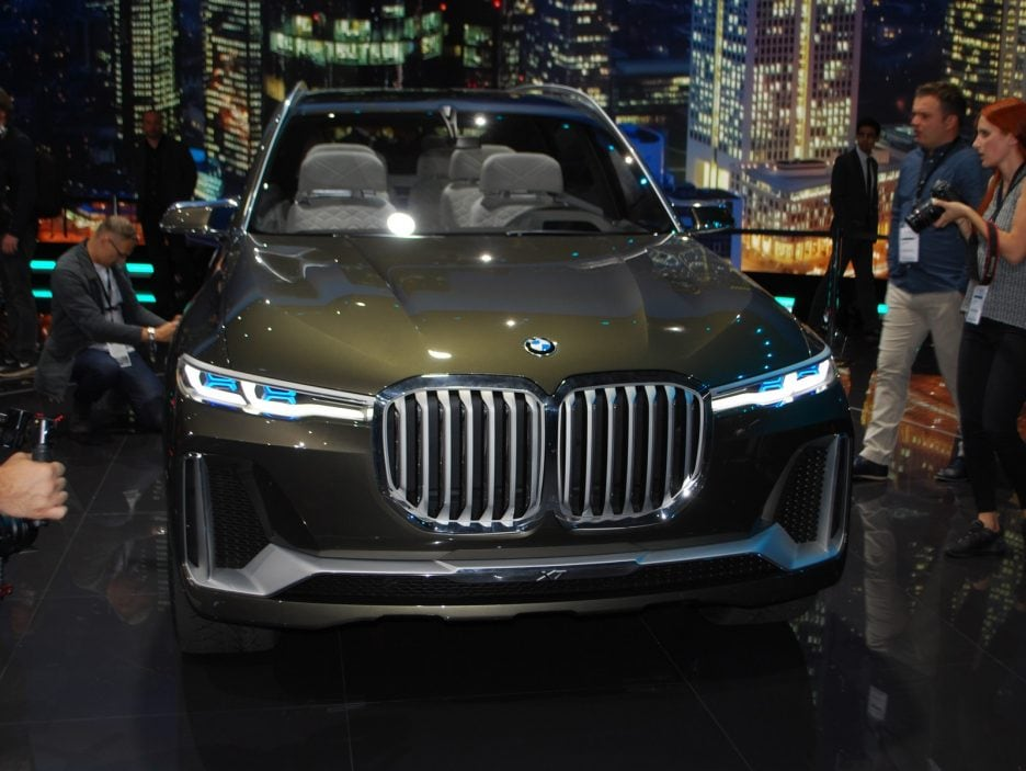 BMW Concept X7 iPerformance frontale - Francoforte 2017