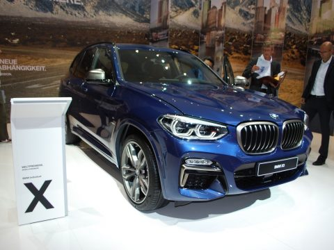 BMW X3 2 - Francoforte 2017