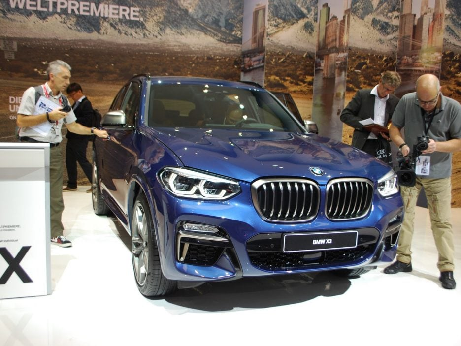 BMW X3 - Francoforte 2017