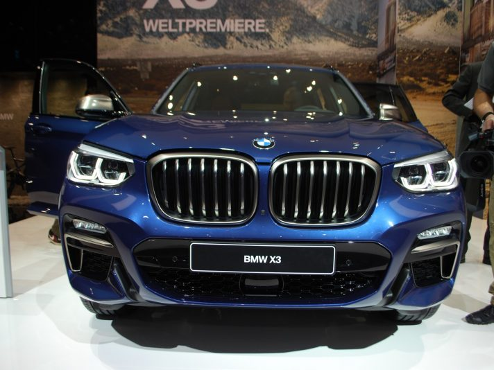 BMW a Francoforte 2017