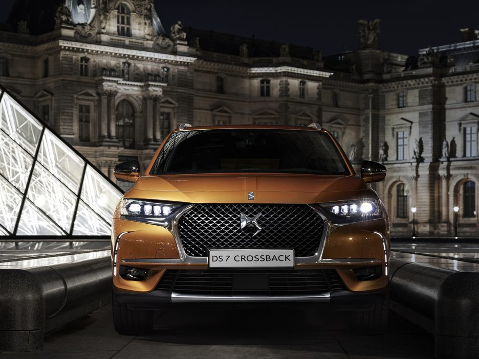 DS DS7 Crossback frontale