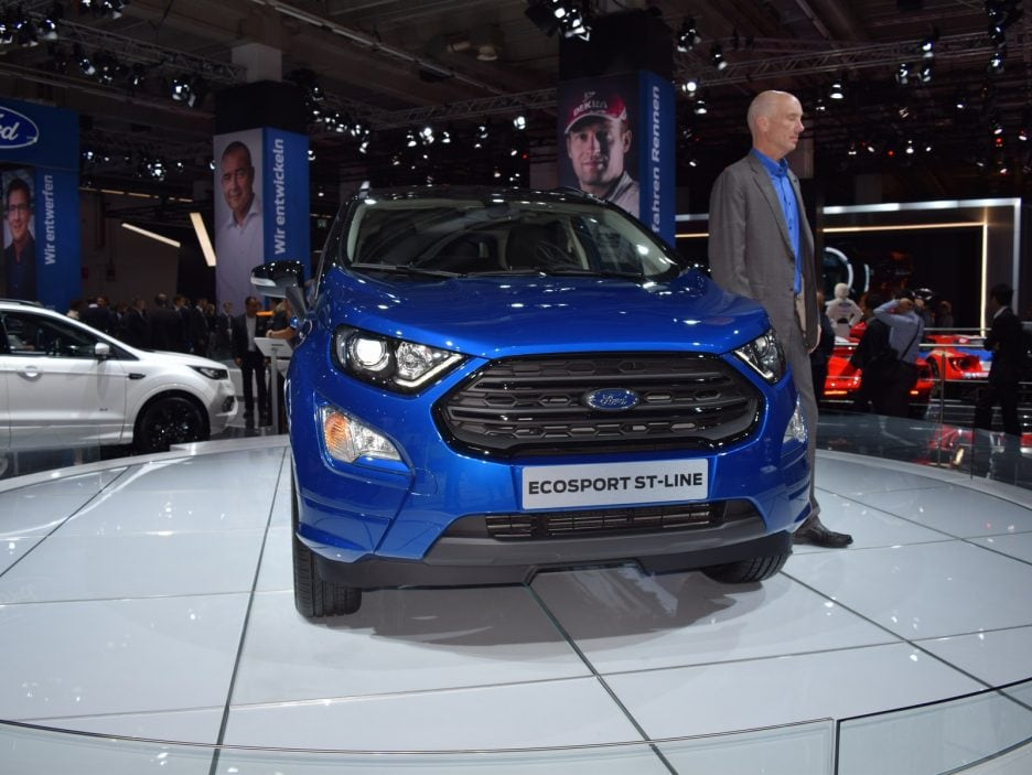 Ford EcoSport restyling frontale 2 - Francoforte 2017