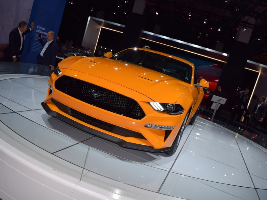 Ford Mustang restyling 2 - Francoforte 2017