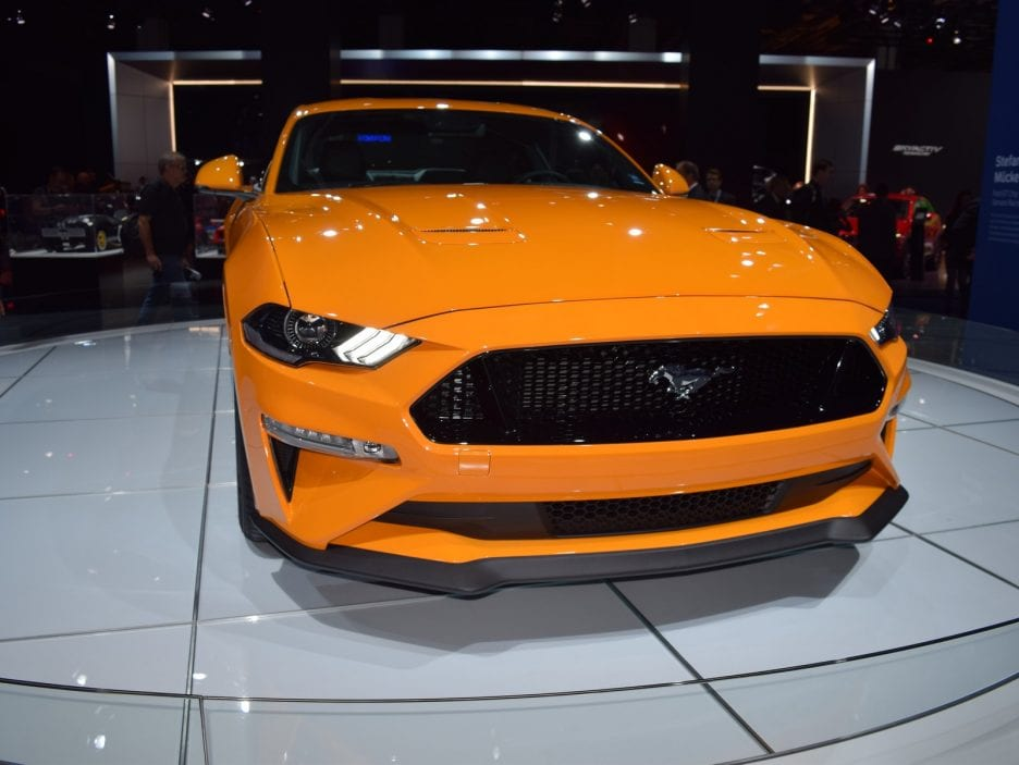 Ford Mustang restyling 3 - Francoforte 2017
