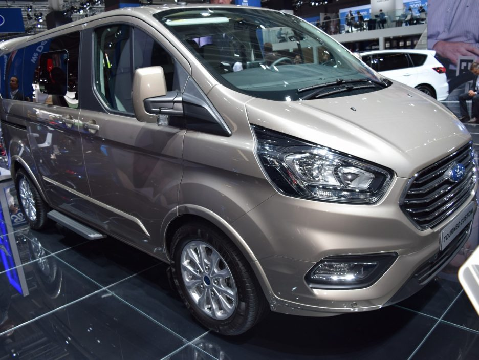 Ford Tourneo Custom restyling 6 - Francoforte 2017