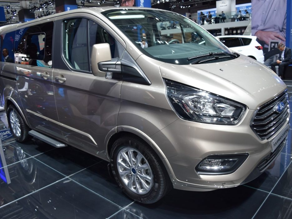 Ford Tourneo Custom restyling 7 - Francoforte 2017