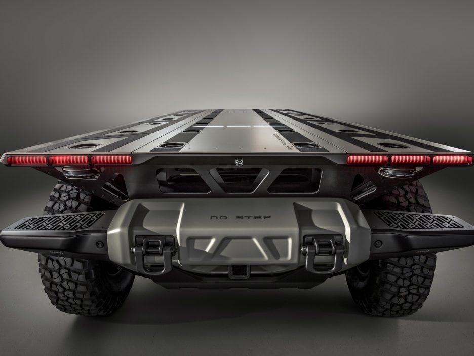 The Silent Utility Rover Universal Superstructure (SURUS) platfo