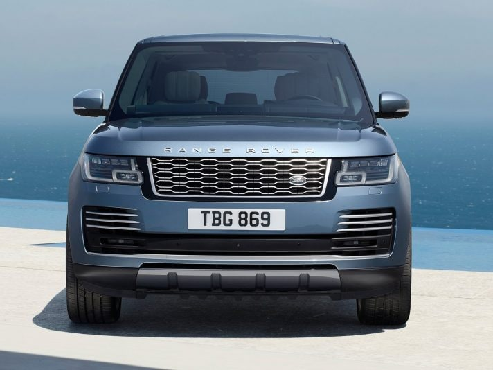 Range Rover 2018, il restyling