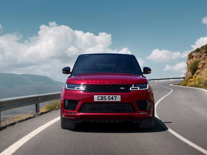 Nuova Range Rover Sport 2018: il restyling