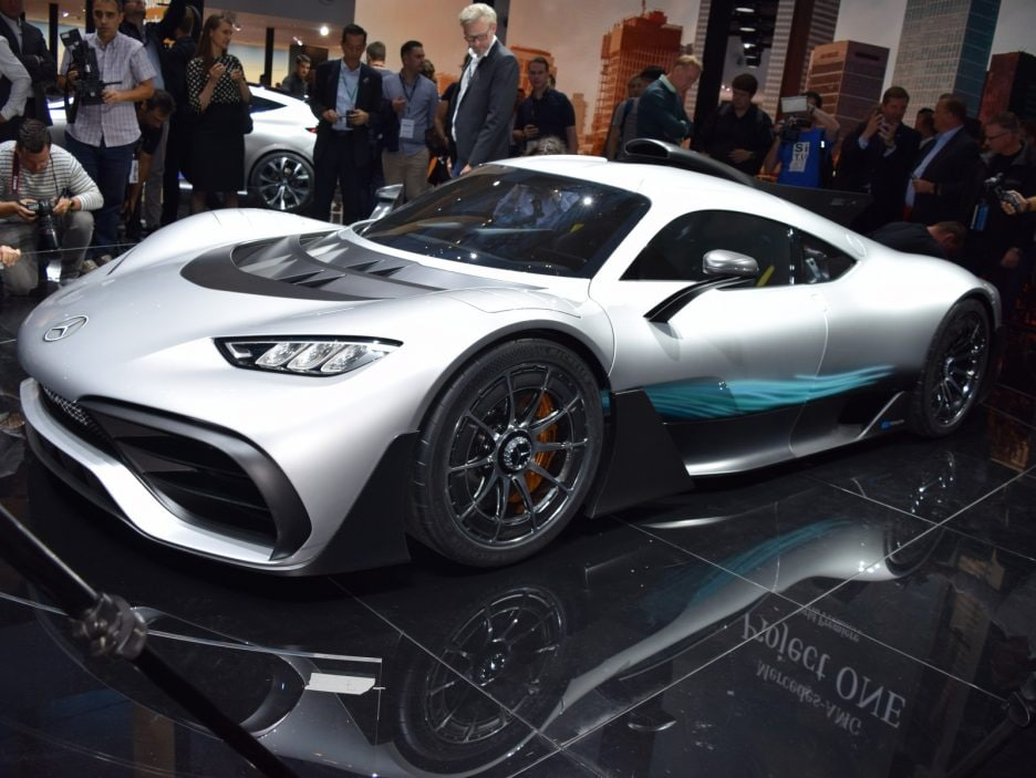 Mercedes-AMG Project ONE Concept - Francoforte 2017