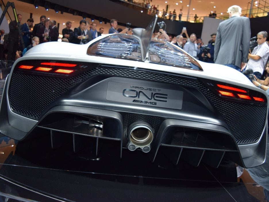 Mercedes-AMG Project ONE Concept coda 2 - Francoforte 2017