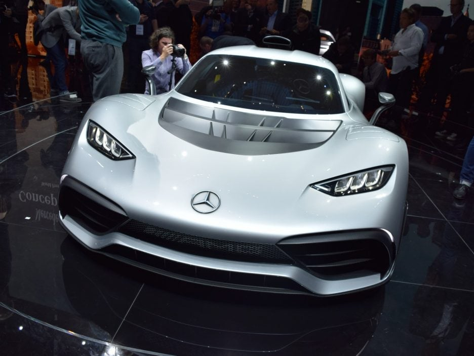 Mercedes-AMG Project ONE Concept frontale - Francoforte 2017