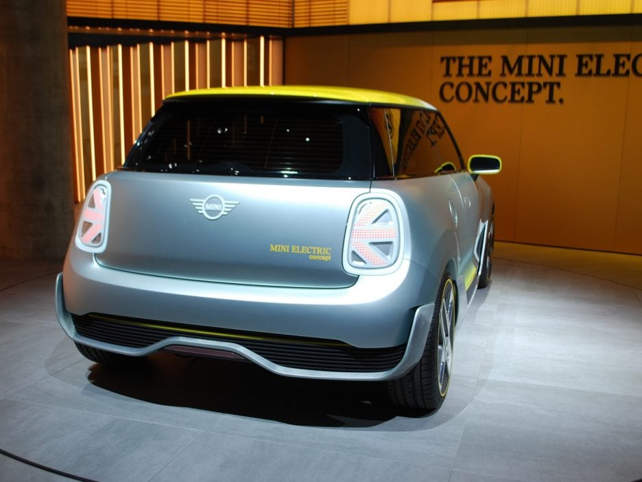 Mini Electric Concept tre quarti posteriore 2 - Francoforte 2017