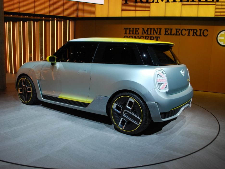 Mini Electric Concept tre quarti posteriore 4 - Francoforte 2017