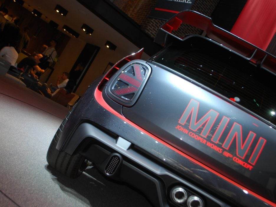 Mini John Cooper Works GP Concept coda - Francoforte 2017